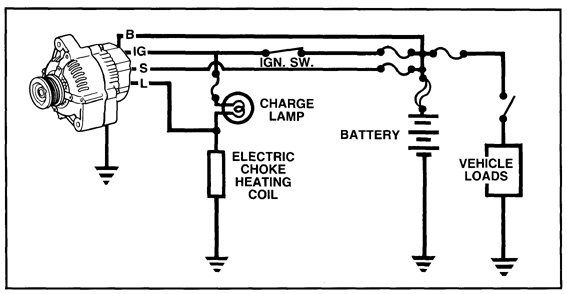 Index on wiring diagram for 3 wire alternator