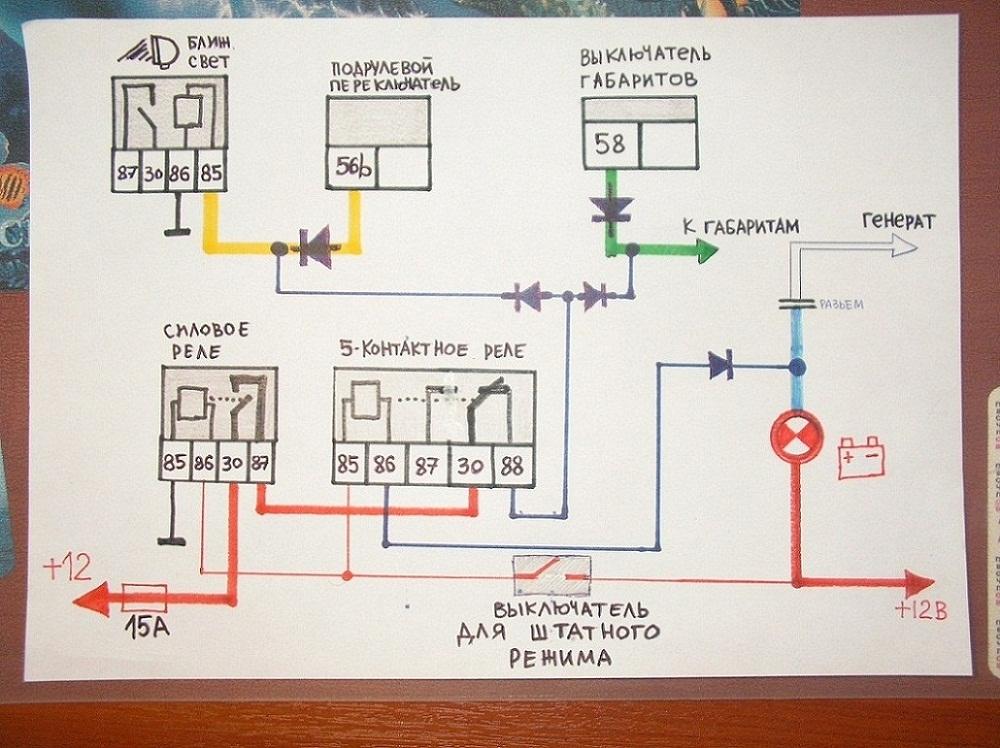 Стеклоочиститель на уаз 469 эл схема