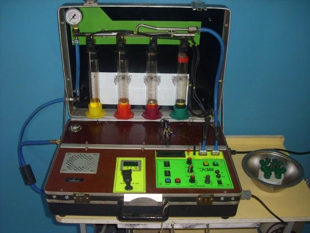 пюрсер: изготовить аппарат для очистки форсунок