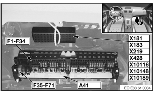 [SCHEMATICS_4HG]  2007 bmw x3 relay location | 2008 Bmw X3 Fuse Diagram |  | hyperfocus.me