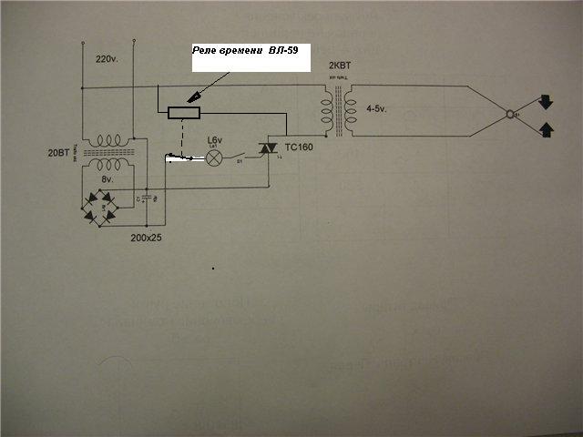 Электрическая схема котла руснит